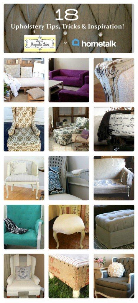 HomeTalk upholstery clipboard