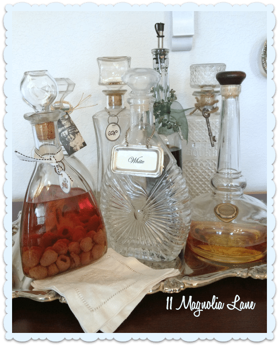 vintage decanters for liquor