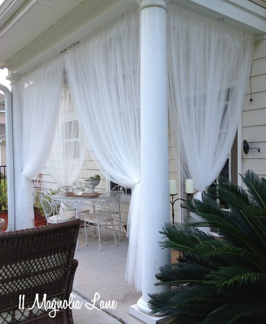 back porch sheer curtains