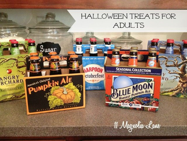 beer for adult trick or treaters
