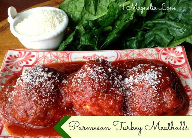 Parmesan-Turkey-Meatballs