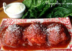Parmesan Turkey Meatballs- My Mother's Recipe