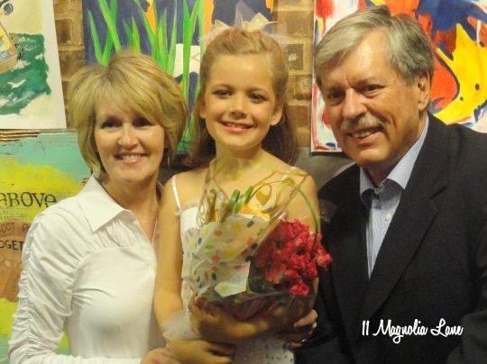 ballet recital grandparents