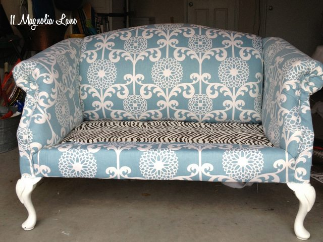 brown zebra upholstery