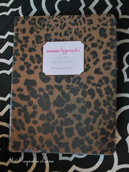 my agenda mom agenda leopard print