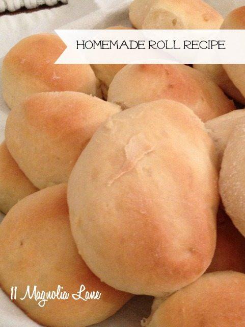 yeast roll recipe