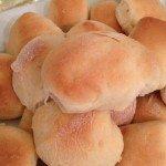 yeast rolls golden brown