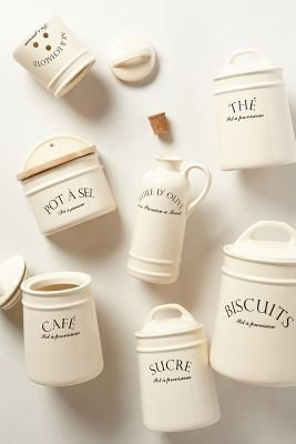 anthropologie canisters