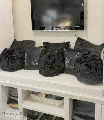 built-ins-office-black-pillows