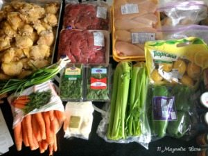 Operation: Organization 2014 ~ 25 Healthy Freezer Meals from Terry