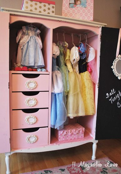 Merveilleux Full View Dress Up Armoire