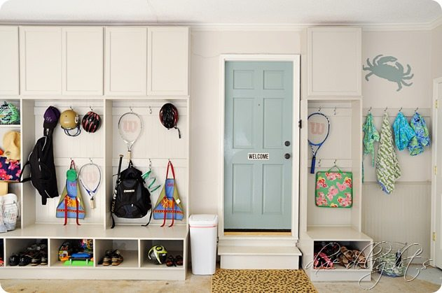 Mudroom Laundry Room Ideas Garage Entry Doors