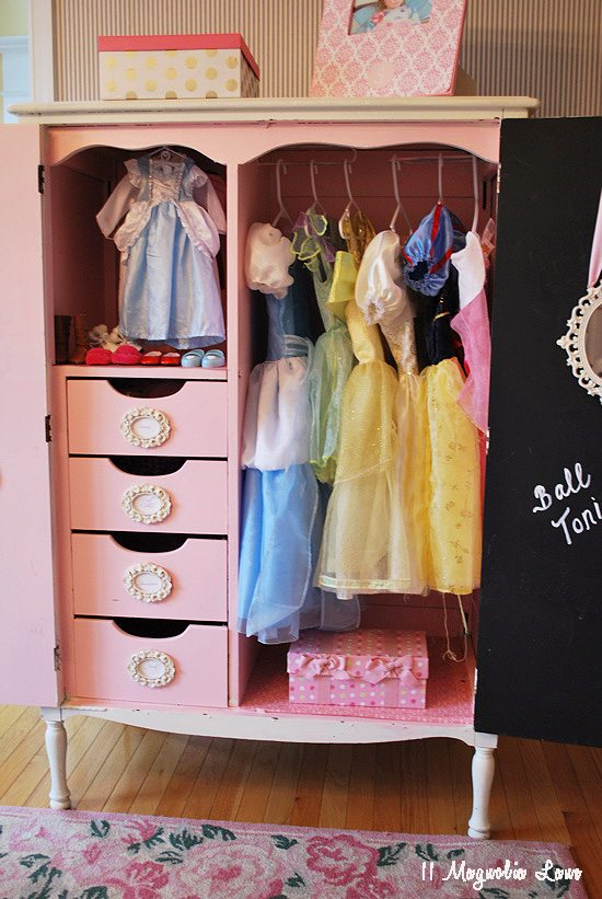 Charmant Tall Dress Up Closet