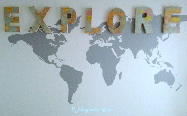 Explorer_Vinyl _Map