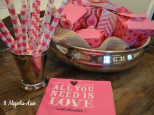 Valentine's Day Lavender Bath Salts