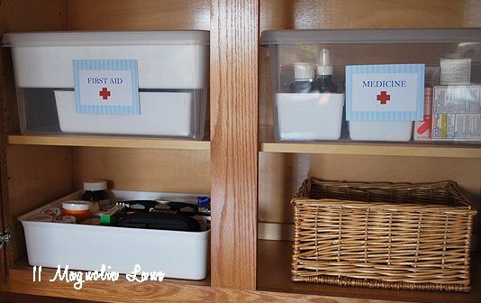 Organizing Life--Organizing First Aid And Medicine Safely