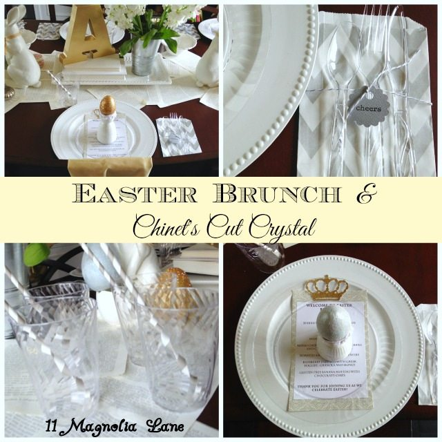 Easter Entertaining Made Easy with Chinet® Cut Crystal®  Tableware
