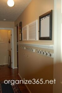Operation: Organization 2014 ~ Creating an Entryway Drop Zone by Organize 365