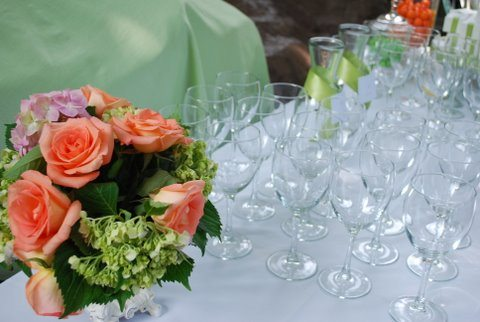 rental glassware