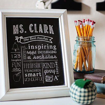 Chalkboard Printable