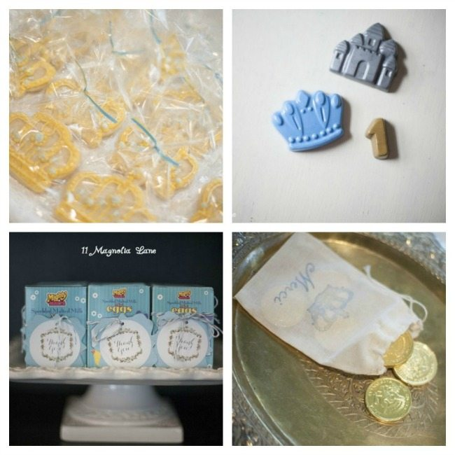 King Themed Party Favors