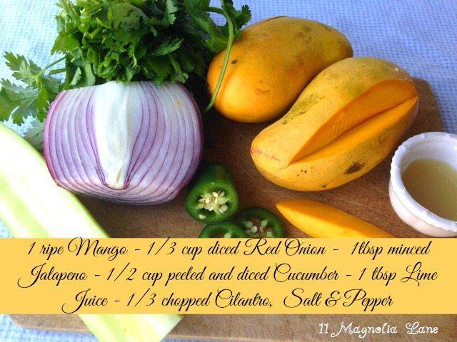 Mango Salsa Ingrediants
