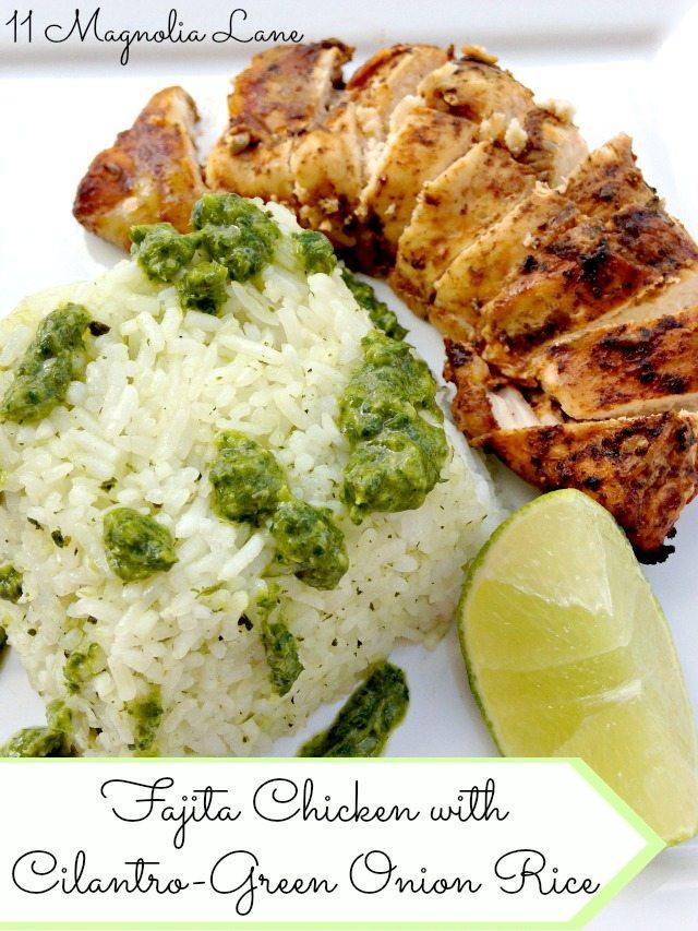 Chicke-Fajita-Cilantro-Rice