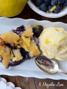 Blueberry Cobbler Recipe--A Summer Favorite!