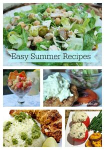 5 Easy Summer Recipes