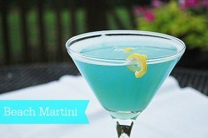 It's 5 o'clock at Magnolia Lane {Beach Martini}