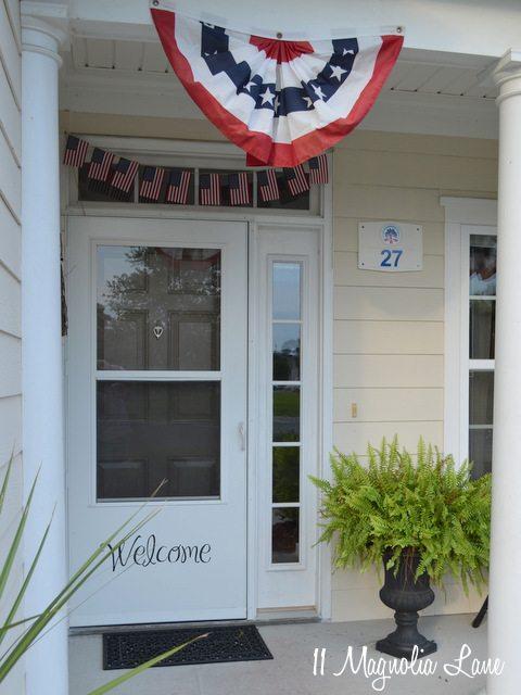 DIY flag bunting/garland