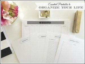 Organizing Printables | Organizing Binder