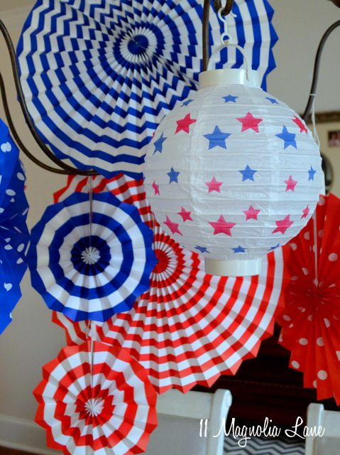 Its Almost July 4th Red White Blue Party Ideas 11 Magnolia Lane