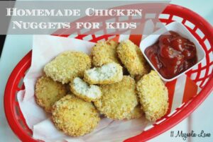 Homemade Chicken Nuggets for Kids