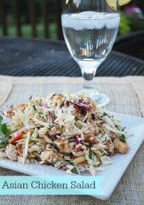 Summer Salad--Asian Chicken Salad
