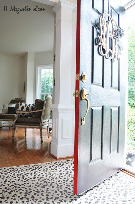 door open painted