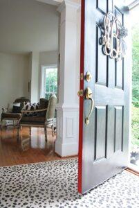 Front Door Makeover with Modern Masters Front Door Paint