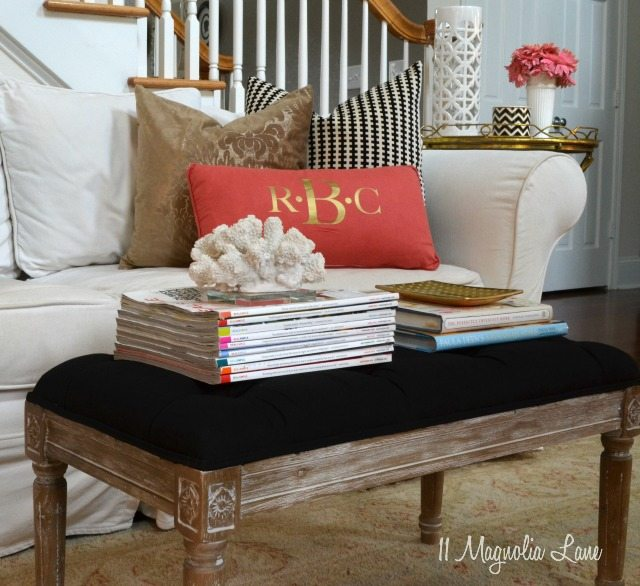 How to paint upholstery fabric black velvet chair 11 magnolia lane Black white gold living room