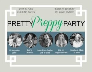 Pretty Preppy Party–Link up your Holiday Projects Today!