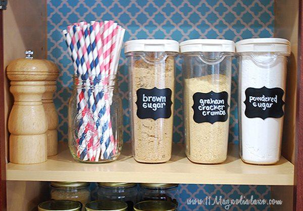 Baking Cabinet Food Storage