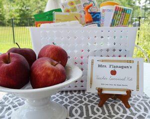 Back to School Teacher Survival Kit | 11 Magnolia Lane