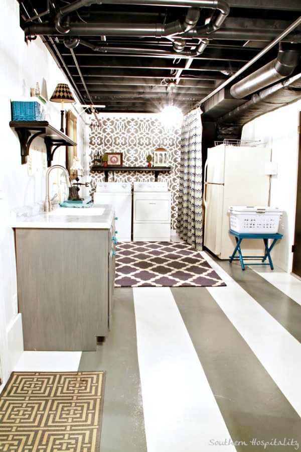 Laundry Room Makeover   Southern Hospitality