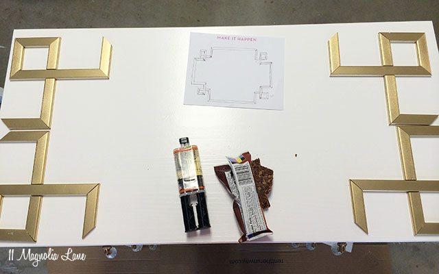 Exceptional DIY Greek Key Overlay On IKEA Dresser | 11 Magnolia Lane