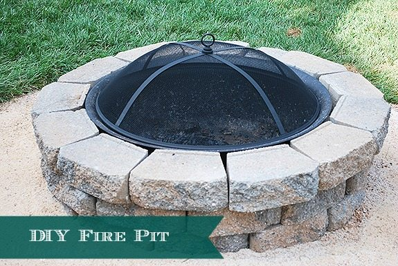how-to-DIY-backyard-firepit-header - How To Build A DIY A Backyard Fire Pit 11 Magnolia Lane