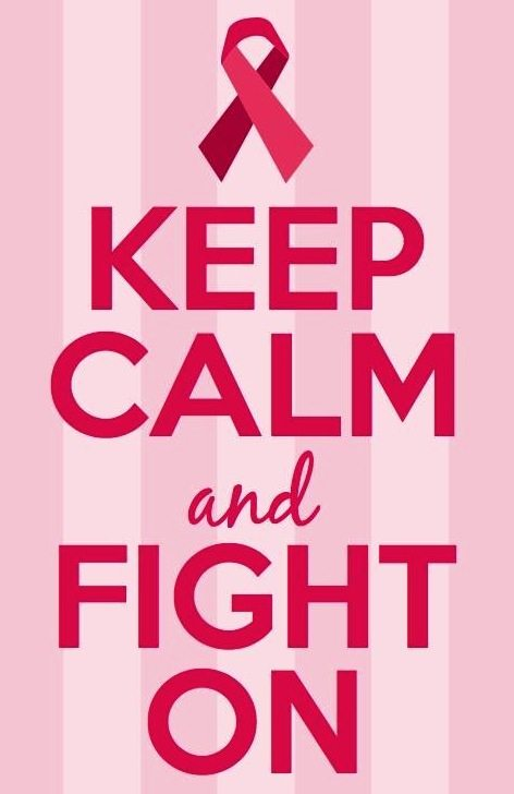Keep Calm and Fight On | 11 Magnolia Lane