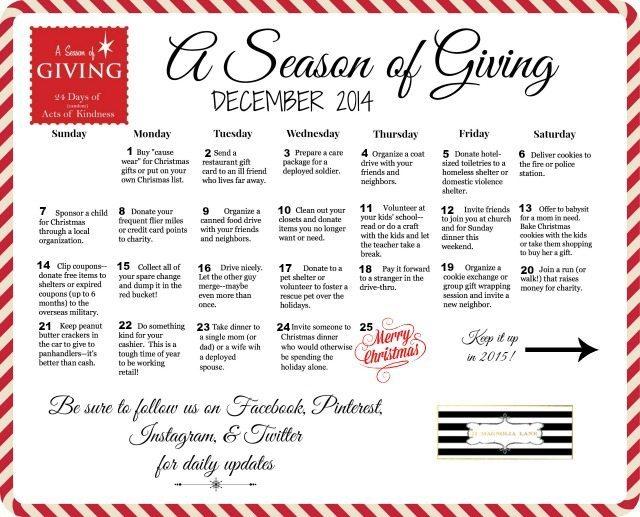 A Season of Giving 2014 | 11 Magnolia Lane