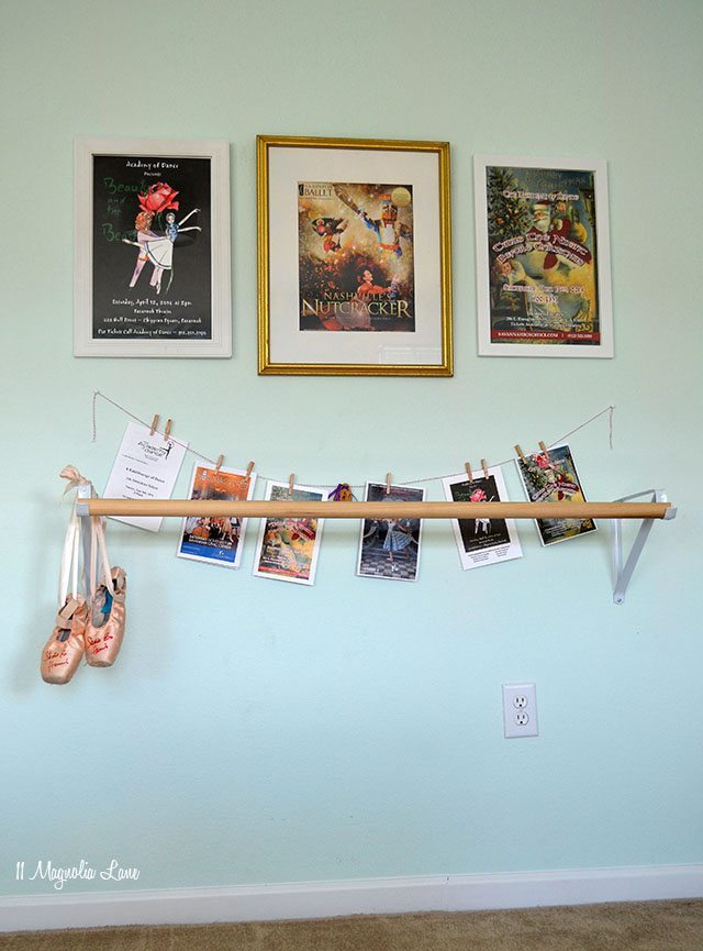 DIY ballet barre | 11 Magnolia Lane