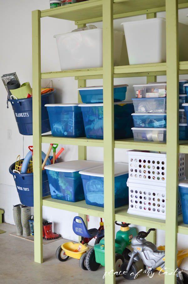 Operation: Organization –Garage Organization from Place Of My Taste