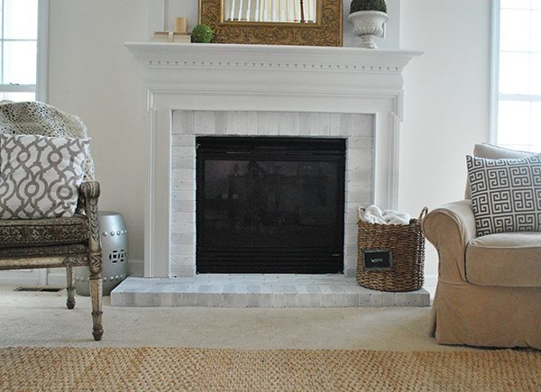 painted-fireplace-makeover