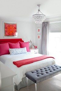 Red & White in Home Decor